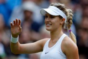 La joueuse de tennis montréalaise Eugenie Bouchard... (Photo Alastair Grant, La Presse Canadienne ) - image 1.0