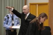 Anders Behring Breivik en cour en mars dernier,... (AP) - image 2.0