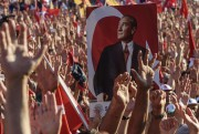 «Nous sommes les soldats de Mustafa Kemal» Atatürk,... (AFP, OZAN KOSE) - image 2.0