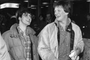 Stéphane Laporte et André-Philippe Gagnon photographiés en novembre... (Photo Bernard Brault, Archives La presse) - image 2.0