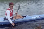 Liza Racine en 1999, au Lac-Sergent.... (Archives Le Soleil) - image 2.0