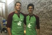 Deux participants au 4x100m, Ismael Meunier-Bourtartour et Frédérik... (fournie) - image 1.0