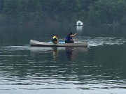 Les agents ont utilisé un canot et des... (Courtoisie, Sécurité publique de la MRC des Collines-de-l'Outaouais) - image 3.0