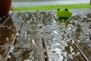 La météo s'est déchaînée sur le secteur de... (Courtoisie) - image 1.1