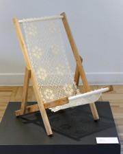 Anne Gravel a confectionné cette chaise selon la... (Le Soleil, Jean-Marie Villeneuve) - image 1.0