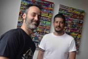Thierry Bouffard et Édouard Tremblay, deux des trois... (Le Soleil, Patrice Laroche) - image 1.0