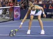 Eugenie Bouchard a perdu son calme durant son... (PHOTO Paul Chiasson, PC) - image 1.0