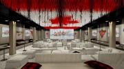 Esquisses du salon des célébrations à la Maison... (Fournie par le Comité olympique canadien) - image 9.0