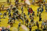 Une maquette de la bataille de Gettysburg.... (PHOTO DAVID BOILY, LA PRESSE) - image 2.0