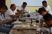 Des prisonniers de l'établissement de Tulancingo tatouent des... (AFP, Ronaldo Schemidt) - image 1.0