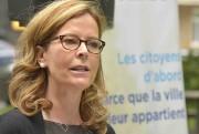 La conseillère de l'opposition Anne Guérette... (Photothèque Le Soleil, Jean-Marie Villeneuve) - image 3.0