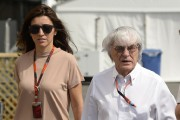 Bernie Ecclestone et sa conjointe Fabiana Flosi dans... (Archives La Presse) - image 4.0