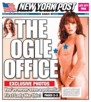 Le New York Post a publié lundi... (Tirée du site Web du New York Post) - image 2.0