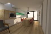 Un rendu de l'aménagement de la pièce à... (IMAGE 3D FOURNIE PAR LA FIRME) - image 3.0