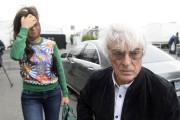 Bernie Ecclestone et son épouse à leur arrivée... - image 5.1