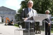 Le gouverneur général David Johnston et le premier... (Patrick Woodbury, LeDroit) - image 1.0