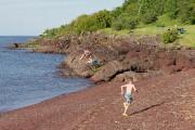 La plage de Berthier-sur-Mer.... (PHOTO ALAIN ROBERGE, LA PRESSE) - image 3.0
