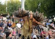 Les Amérindiens étaient aussi de la fête mercredi... (Le Soleil, Yan Doublet) - image 4.0