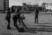 Plateau de tournage du premier bloc d'Impetus, en... (Photo Clémence Mailly,fournie par Jennifer Alleyn) - image 2.0
