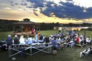 Environ 200 personnes ont assisté au concert pour... (Photo Le Quotidien, Rocket Lavoie) - image 1.0