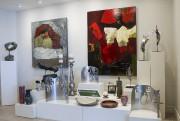 Les toiles et les sculptures d'acier pressé à... (Le Soleil, Caroline Grégoire) - image 2.0