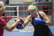 Ariane Fortin à l'entraînement en juillet... (La Presse, Édouard Plante-Fréchette) - image 2.0