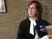 La procureure aux poursuites criminelles Me Nathalie Robidoux... (La Tribune, René-Charles Quirion) - image 1.0