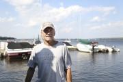 Le propriétaire de la Marina Knowlton, Jerry Moar.... (Julie Catudal, La Voix de l'Est) - image 2.0