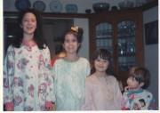 De gauche à droite:Marjolaine, l'aînée, Valérie, Gabrielle et... (PHOTO FOURNIE PAR LA FAMILLE) - image 1.0
