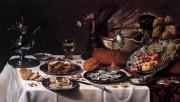 """«L'expression """"foodporn"""" évoque la prolifération des émissions, livres... (PEINTURE DE PIETER CLAESZ, 1627) - image 1.1"""