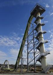 La Verruckt, une glissade d'eau de 168 pieds... (AP, Jill Toyoshiba/The Kansas City Star) - image 1.0