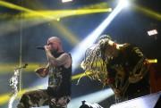 Five Finger Death Punch, une des deux têtes... (PHOTO CATHERINE LEFEBVRE, COLLABORATION SPéCIALE) - image 3.0