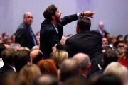 L'intervention du candidat républicain à la Maison-Blanchea été... (PHOTO EVAN VUCCI, AP) - image 2.0