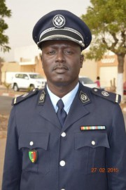 L'adjudant Henry Ciss, porte-parole de la police nationale... (Photo fournie par la Police nationale du Sénégal) - image 1.0