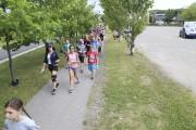 Quelque 200 enfants du Club Vacances Jeunesse de... (Janick Marois, La Voix de l'Est) - image 1.0