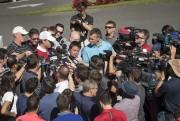 Shea Weber a été entouré parde nombreux représentants... (Photo Ivanoh Demers, La Presse) - image 2.0