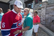 Shea Weber et Michel Therrien lors d'un tournoi... (Photo Ivanoh Demers, archives La Presse) - image 2.0