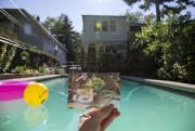 La piscine dans laquelle Penny Oleksiak a passé... (Photo fournie par la famille) - image 1.0