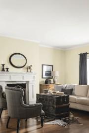 Les murs de ce salon sont peints de... (Fournie par CIL) - image 2.0