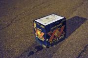 Le couteau était sous cette caisse de bières.... (Photo Le Quotidien, Rocket Lavoie) - image 1.0