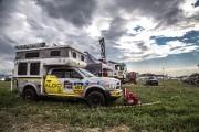Le véhicule d'assistance Aldo Racing, à une étape.... - image 2.0