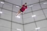 Rosie MacLennan à l'entraînement... (La Presse canadienne, Jason Ransom) - image 3.0