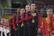 Alexandra Raisman, Madison Kocian, Lauren Hernandez, Gabrielle Douglas... (AFP, Ben Stansall) - image 3.0