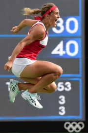 Monica Puig... (Photo Javier Soriano, AFP) - image 2.0