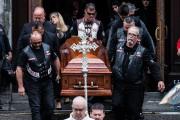 Les funérailles du Hells Angel Kenny Bédard, mort... (La Presse, Edouard Plante-Fréchette) - image 1.0