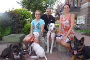 Les organisateurs du Défilé canin de Roberval, l'éleveuse... (Photo courtoisie, Chantale Potvin) - image 1.0