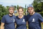 Les organisateurs du premier PaddleFest O'Soleil, Francis Coté,... (Photo Le Progrès-Dimanche, Gimmy Desbiens) - image 1.0