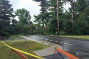 Les orages ont fait des dégâts à Cowansville,... (Fournie par Claude Paradis) - image 1.0