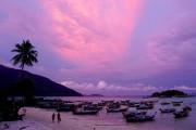 La terrasse surélevée du Happy Vibe Sunrise Beach... (PHOTO AUDREY RUEL-MANSEAU, LA PRESSE) - image 3.0