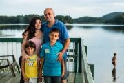 La famille Nasra-Elias, composée de Zeina, Bassem et... (PHOTO ÉDOUARD PLANTE-FRÉCHETTE, LA PRESSE) - image 3.0